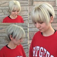 10 Two Tone Short Bob Haircut With Bangs